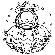 garfield i love you coloring pages | Top 10 Free Printable Garfield Coloring Pages Online