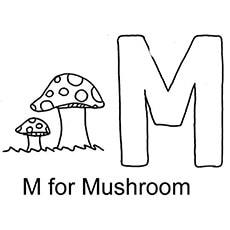 the-m-for-mushroom