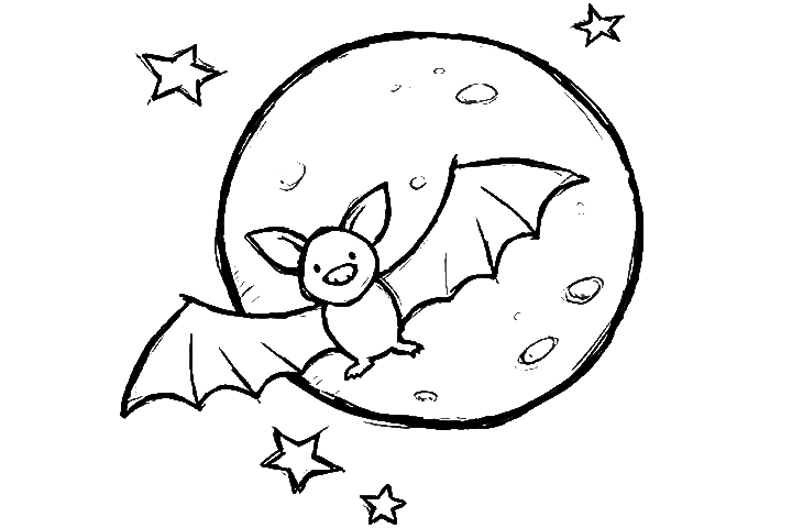 Emejing Coloring Pages Of Bats Pictures New Printable Coloring