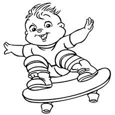 the theodore - Theodore Chipmunk Coloring Pages