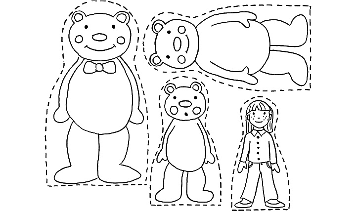 Goldilocks And The Three Bears Coloring Pages Bed - 2018 images ...