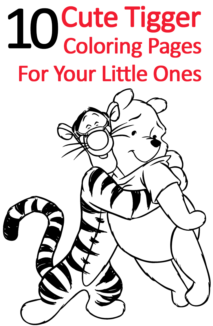 tigger coloring pages online - photo #28