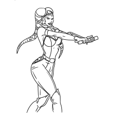 Star Wars Twi Leks Coloring pages