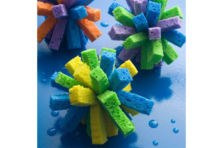 Water Bombs From Sponge