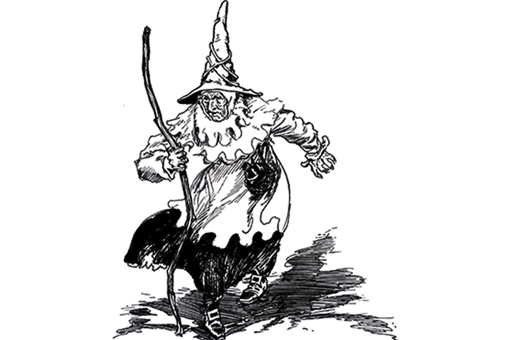 wicked witch coloring pages - photo#27