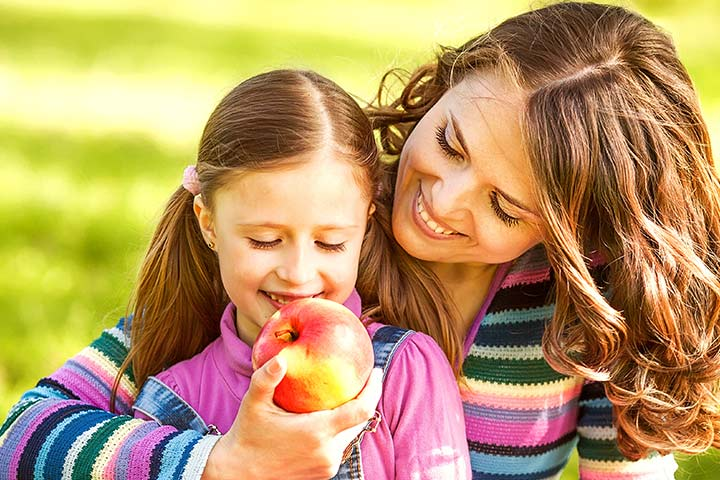 benefits of apple for kids