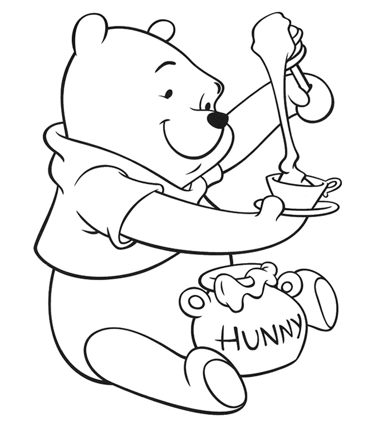 Top 10 free printable bear coloring pages online