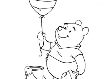 10 Cute Balloon Coloring Pages For Your Toddler