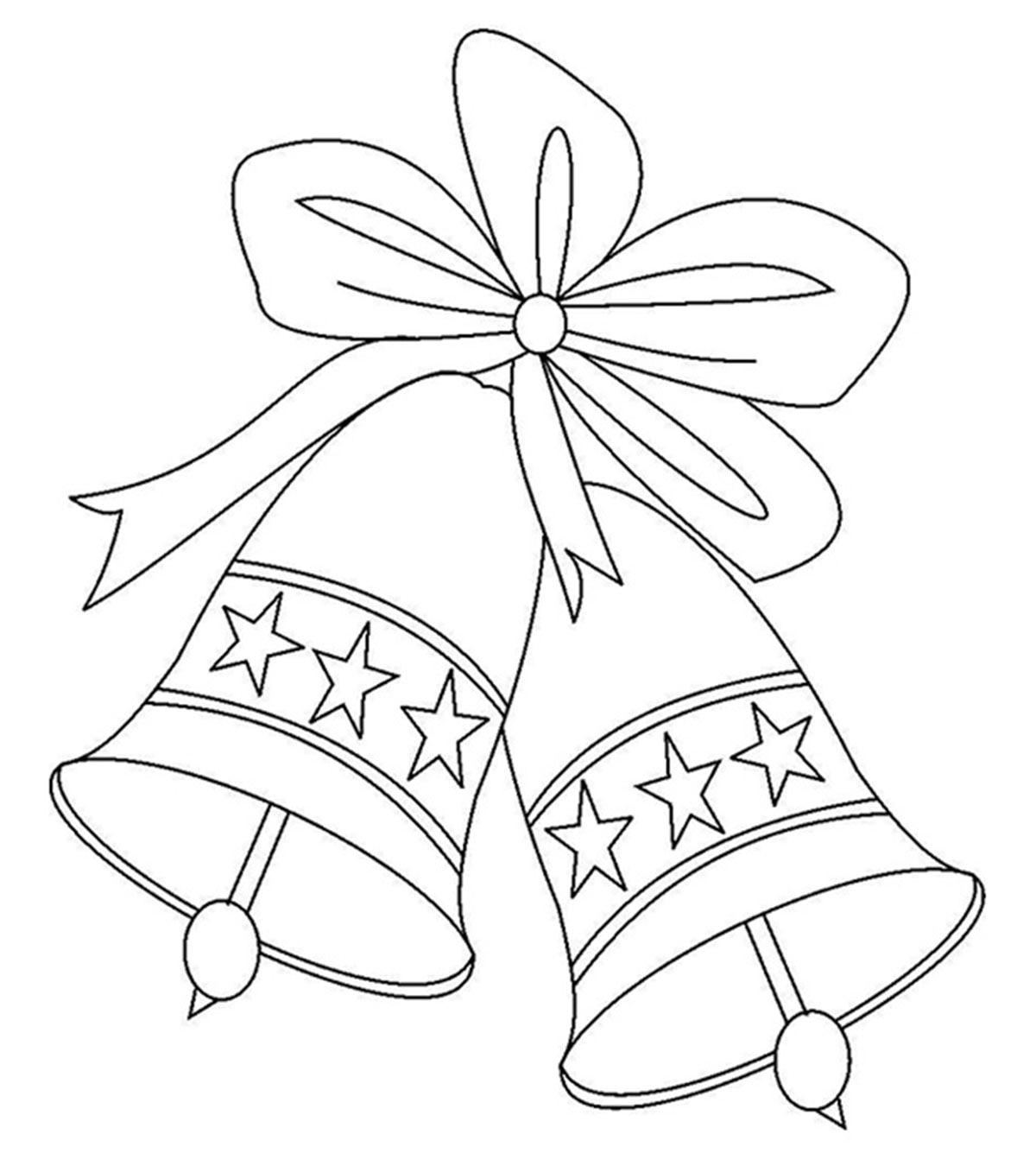 картинки раскраски колокольчики новогодние изготовления сегодняшней мегаполезной