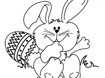 10 Cute & Funny Rabbit Coloring Pages For Your Toddler