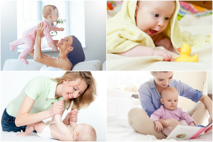 10 Learning Games And Activities For 4 Month Old Baby