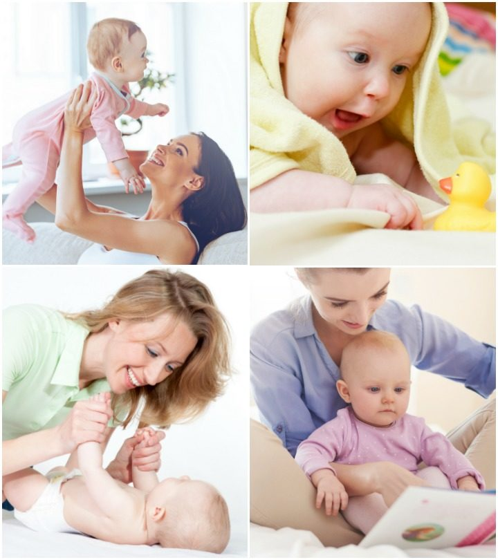 10 Learning Games & Activities For Your 4 Month Old Baby