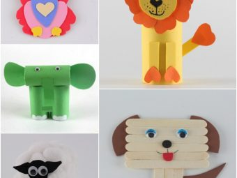 15 Easy-to-make Animal Crafts For Kids