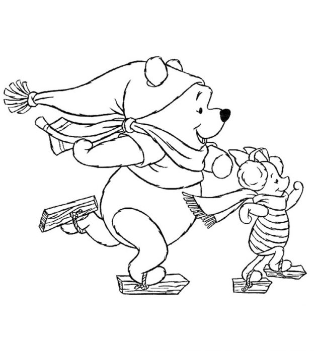 Christmas Coloring Pages Disney.Top 20 Free Printable Disney Christmas Coloring Pages Online