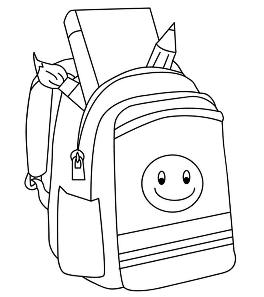 Top 20 Free Printable Back To School Coloring Pages Online-7479
