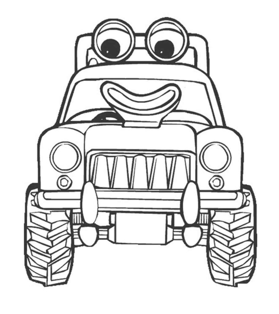 coloring book pages of tractors | Top 25 Free Printable Tractor Coloring Pages Online