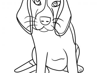 25 Cute & Funny Dog Coloring Pages Your Toddler Will Love To Color