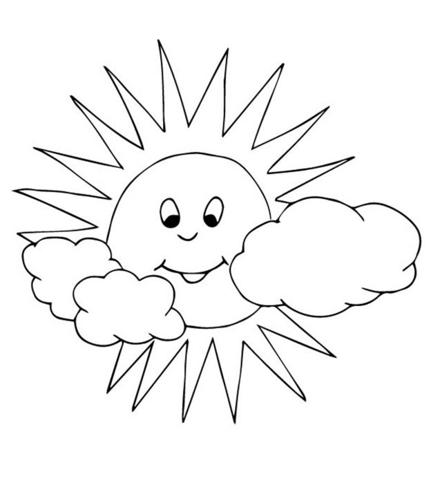 Sun Coloring Pages Free Printables Momjunctionrhmomjunction: Coloring Pages Of Sun At Baymontmadison.com