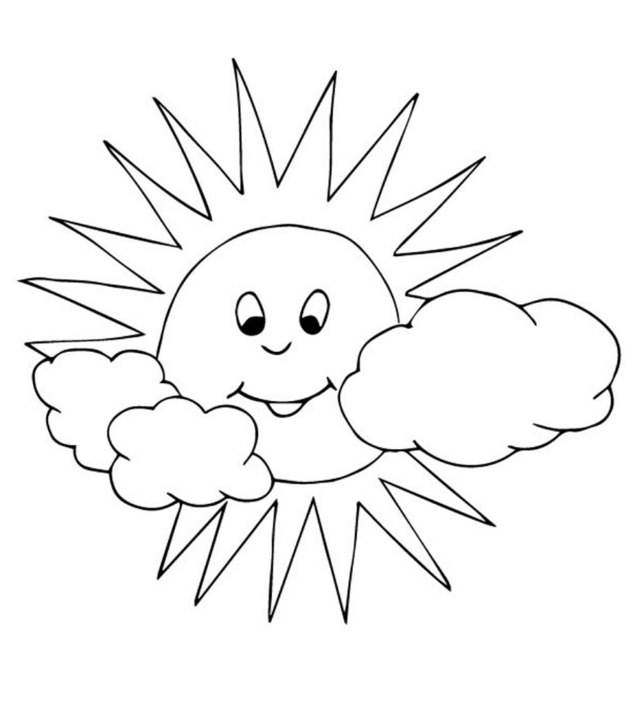- Sun Coloring Pages - Free Printables - MomJunction