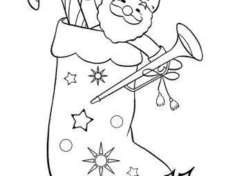 25 Lovely 'Christmas Stocking' Coloring Pages For Your Little Ones