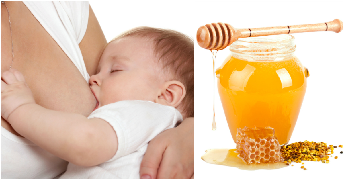 is it safe to eat honey while breastfeeding