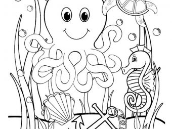 35 Best Ocean Coloring Pages For Your Little Ones