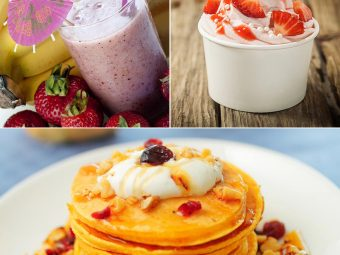 4 Simple And Healthy Yogurt Recipes For Kids