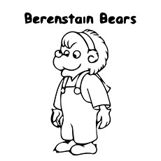 A-Berenstain-Bears-Lizzy-Coloring