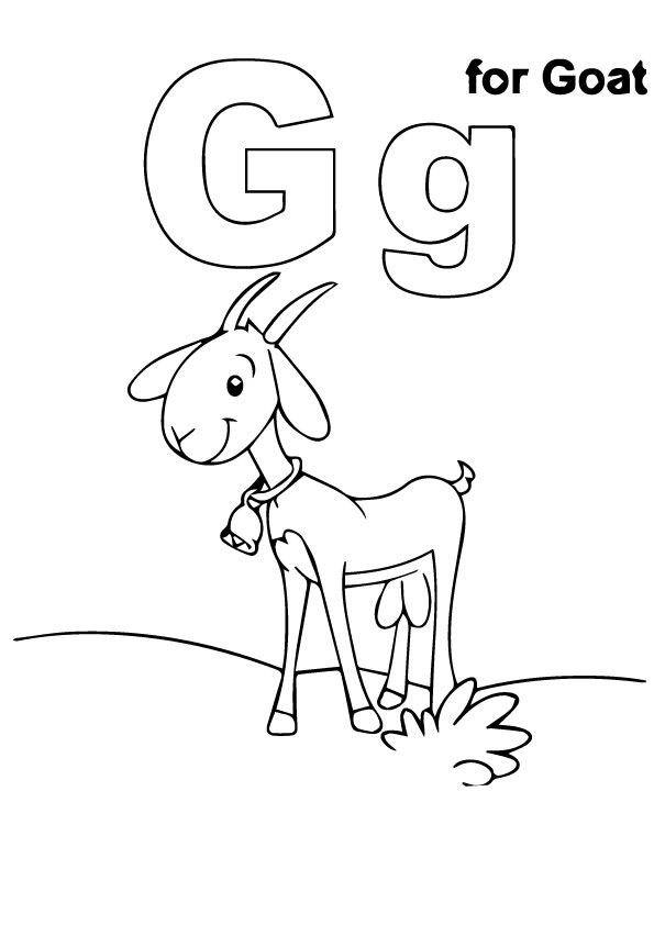 A-G-Coloring-Pages-line