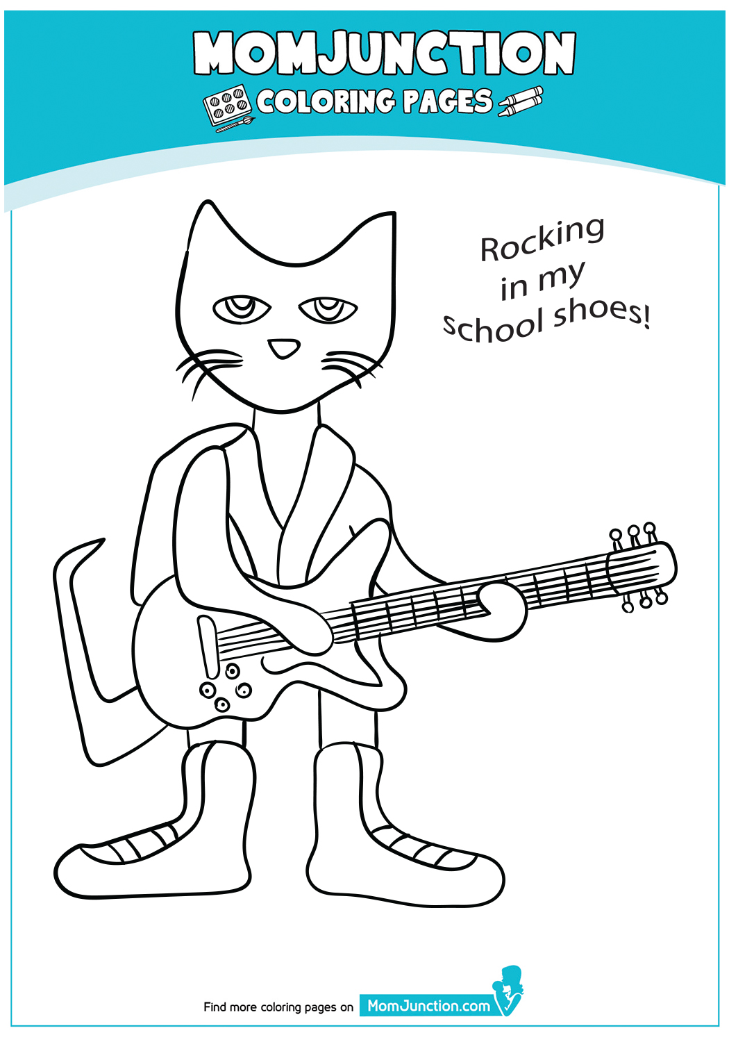 A-Pete-The-Cat-Coloring-Pages-PeteSchool