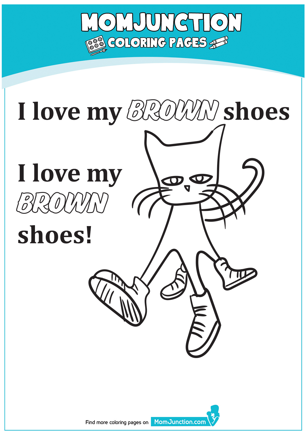 A-PetetheCat-Coloring-Brown
