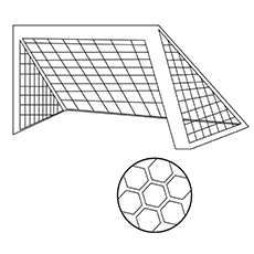 A-Soccer-Ball-With-Net-16 coloring pages