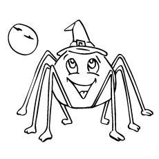Fantasy Spider Coloring Pages