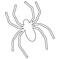 fill black color in spider to complete