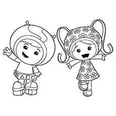 10 best team umizoomi coloring pages for your toddler - Umizoomi Coloring Pages Printable