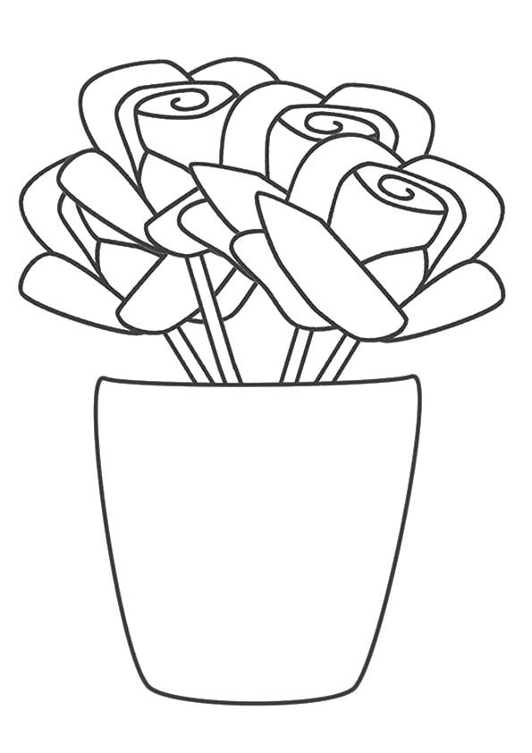 A-rose-vase