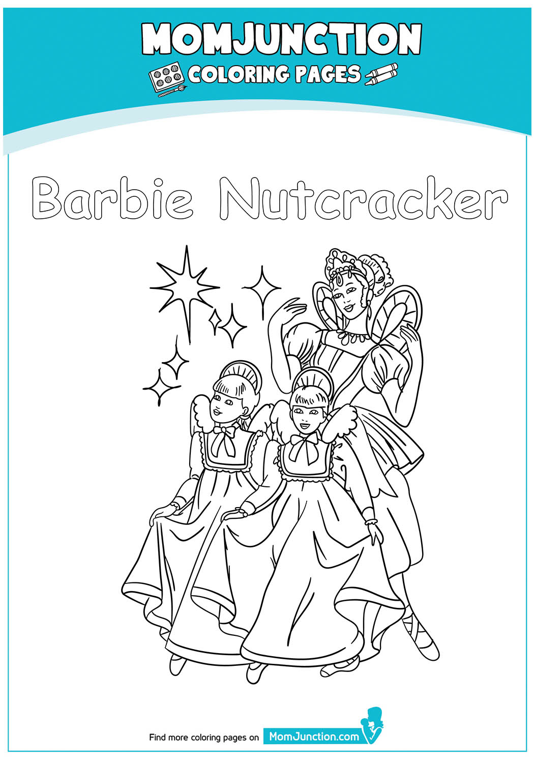Barbie-Nutcracker-Colouring-Pages-17