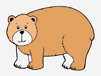 Top 10 Brown Bear Coloring Pages For Your Little Ones