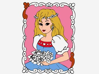 35 Beautiful Princess Coloring Pages For Your Little Girl