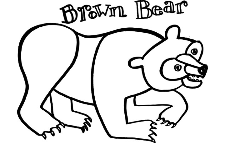 12 Best Eric Carle Images On Pinterest Coloring Pages For Brown Bear