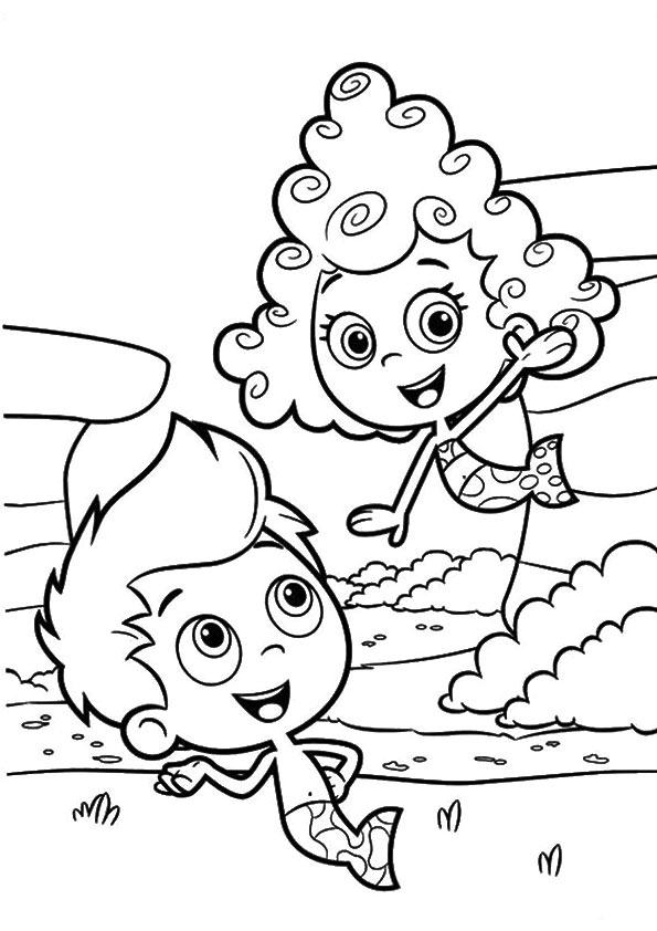 Bubble-Happy-Couple-Guppies