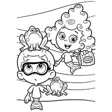 Bubble Guppies Coloring Pages 25 Free Printable Sheets Guppies Coloring Page