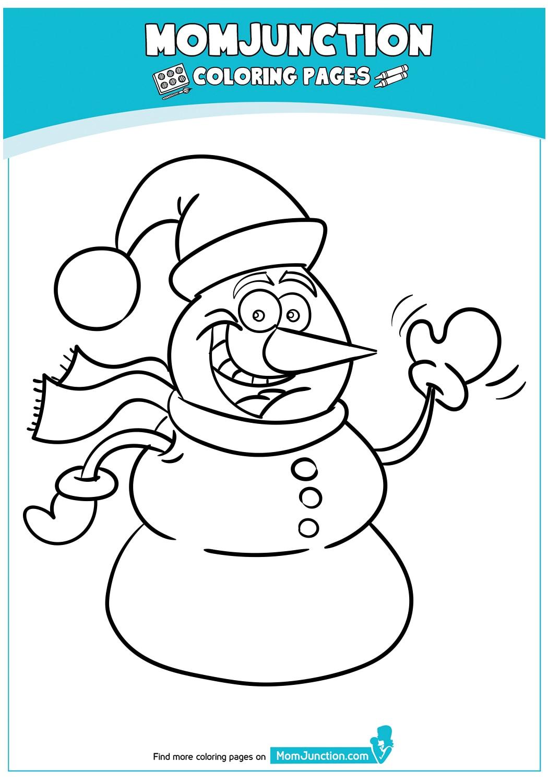 Cartoon-Snowman