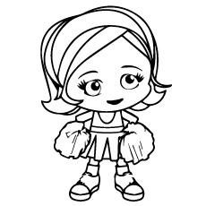 Cheerleader-baby