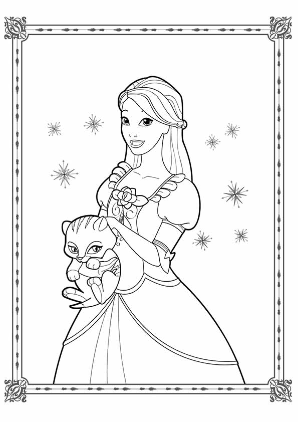 Coloring-Pages-Of-Barbie-And