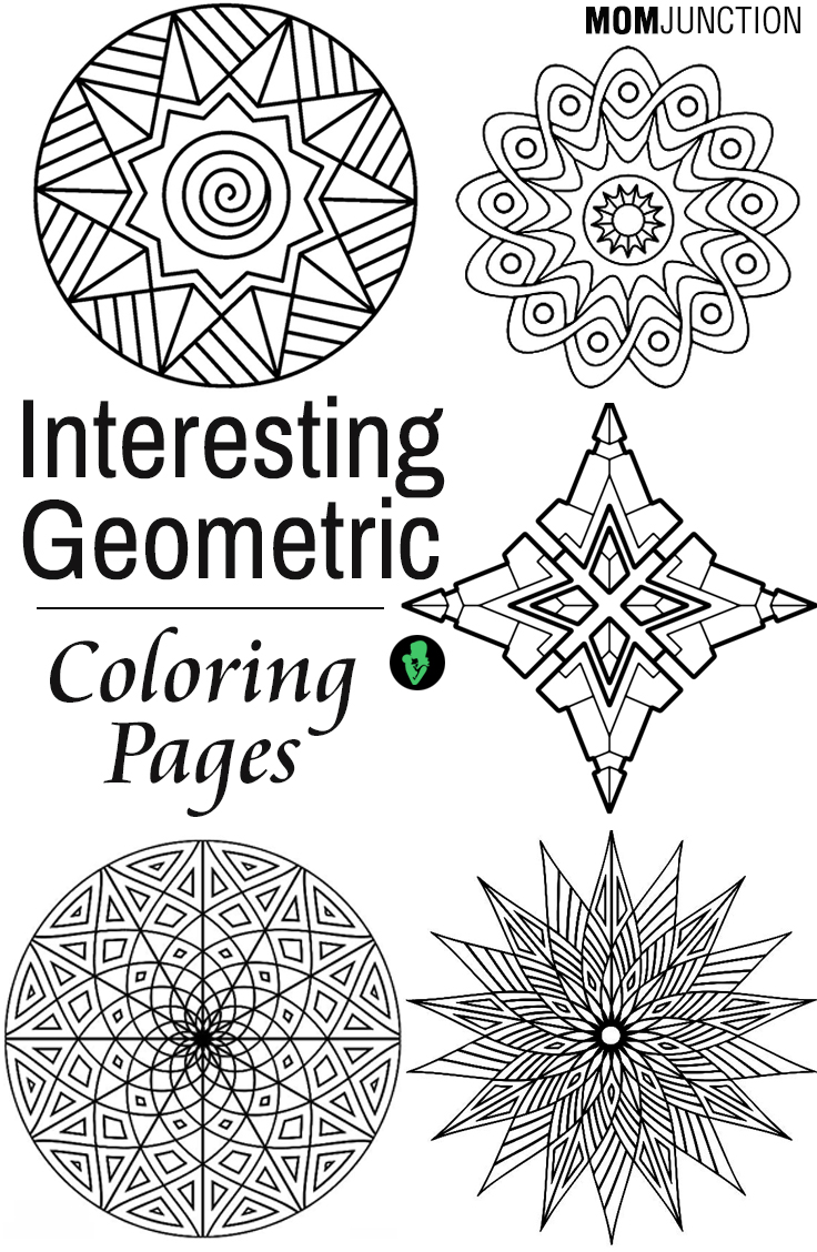 Colouring pages geometric patterns - Colouring Pages Geometric Patterns 80