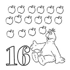Ten apples up on top coloring pages sketch coloring page for Ten apples up on top coloring pages