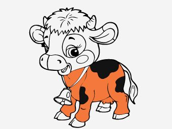 15 Best Cow Coloring Pages For Your Little Ones