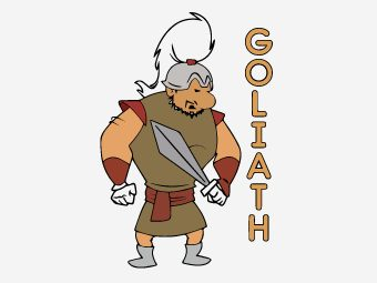 Top 25 'David and Goliath' Coloring Pages For Your Little Ones