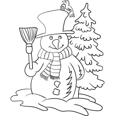 During-Winter-Snowman